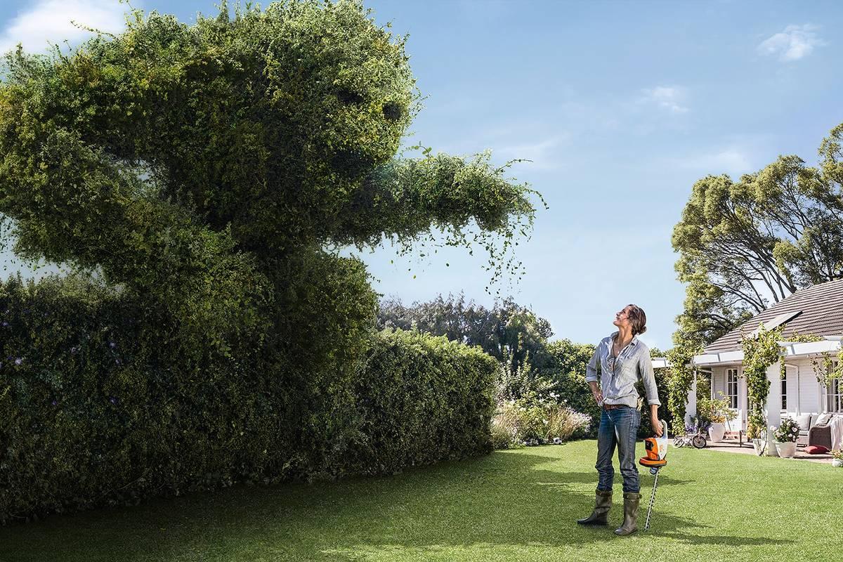 Designed for gardens.