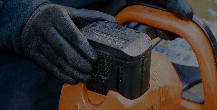 Geräte mit Akku-Schacht.